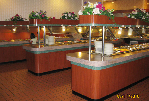 Your Asian gardens buffet