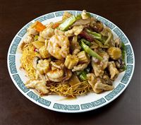 HK Pan Fried Noodle