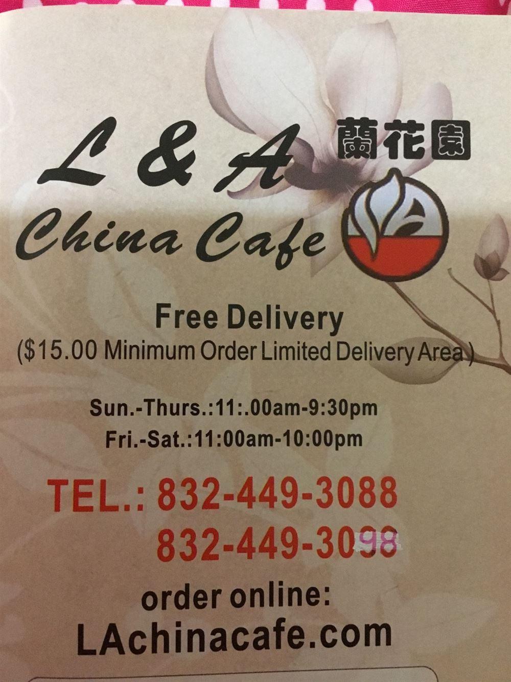 L & A China Cafe
