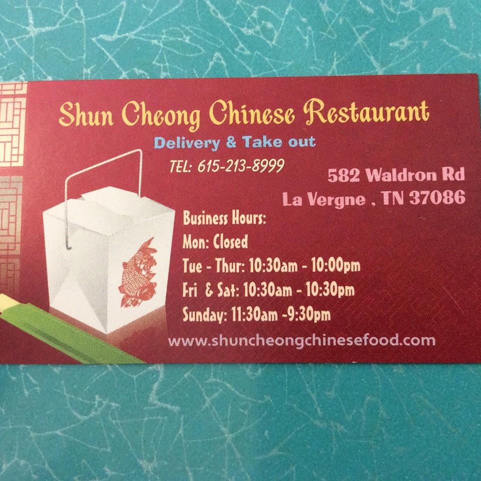 Shun Cheong Chinese Restaurant La Vergne Tn