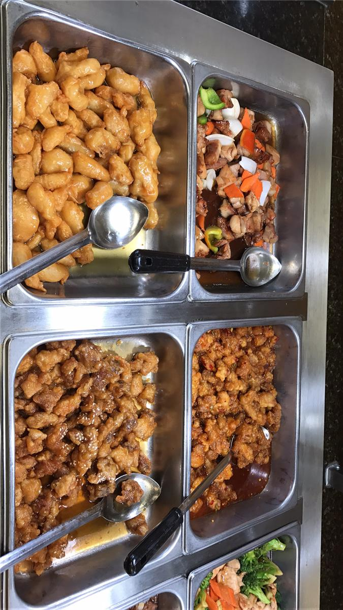 compare chinese food and american food